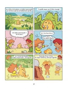 Extrait de Balez & Malina -1- Un amour de mammouth