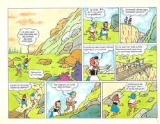 Extrait de Sylvain et Sylvette (06-série : collection Fleurette 2e série) -8- Le chemin perdu