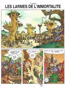 Extrait de Les aventures d'Alef-Thau -7- La porte de la vérité