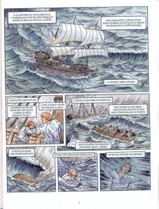 Extrait de Les grands Classiques en bande dessinée - Robinson Crusoé