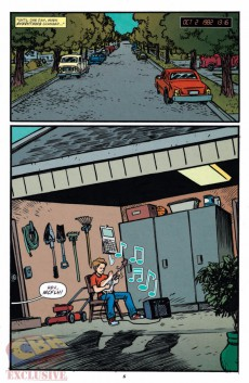 Extrait de Back to the Future (2015) -1- Untold Tales and Alternate Timelines