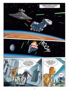 Extrait de Star Wars (Delcourt / Disney) -4- Épisode IV - Un nouvel espoir