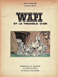 Extrait de Wapi -1 '- Wapi et le triangle d'or