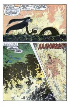Extrait de Namor, The Sub-Mariner (1990) -5- All the rivers burning!