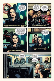Extrait de Captain America (Marvel comics - 1968) -INT13- The Trial of Captain America