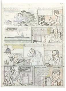 Extrait de Blake et Mortimer (Divers) -12HS- Les 3 Formules du Professeur Satô - Découpage original