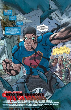 Extrait de Action Comics (2011) -46- Blind Justice - Part Two