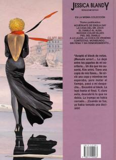 Extrait de Jessica Blandy (en espagnol) -8- Sin pena y sin remordimiento...