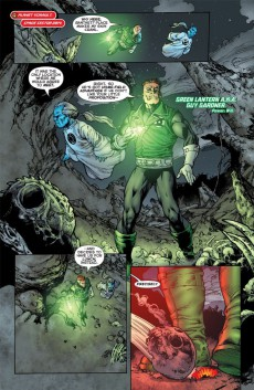 Extrait de Green Lantern Corps (2006) -INT07- Revolt of the Alpha-Lanterns