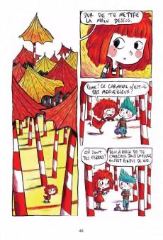 Extrait de Rouge - Petite princesse punk