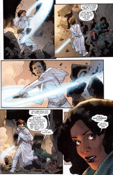 Extrait de Star Wars (2015) -12- Book II, Part V : Showdown On The Smugglers' Moon