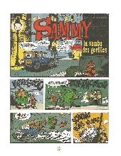 Extrait de Sammy -11- Deux Histoires de Gorilles