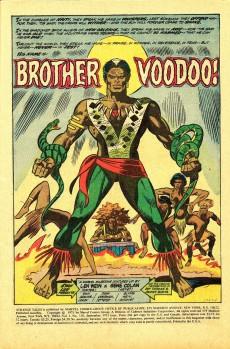 Extrait de Strange Tales (Marvel - 1951) -169- Brother Voodoo