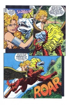 Extrait de Namor, The Sub-Mariner (Marvel - 1990) -17- Fire and stone