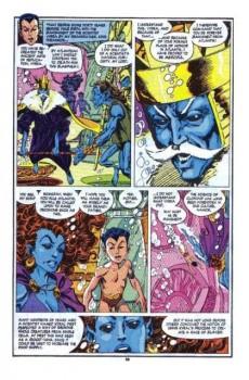 Extrait de Namor, The Sub-Mariner (Marvel - 1990) -20- My mother...myself