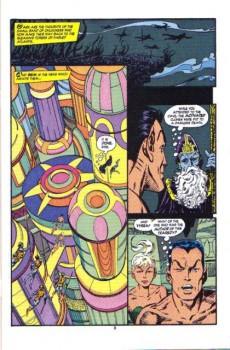 Extrait de Namor, The Sub-Mariner (Marvel - 1990) -21- Call my land k'un-l'un