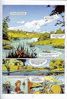 Extrait de Spirou et Fantasio -47a13- Paris sous-Seine