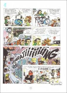Extrait de Gaston -10a1973- Le géant de la gaffe