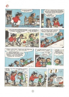 Extrait de Gaston -9a77- Le cas Lagaffe