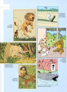 Extrait de Tintin - Divers -76TL- Les animaux de Tintin