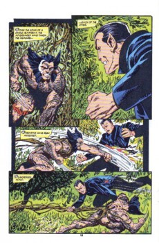 Extrait de Namor, The Sub-Mariner (Marvel - 1990) -24- Greenwich Village, New York. A House Which Few In This Vast City Have Ever Seen...