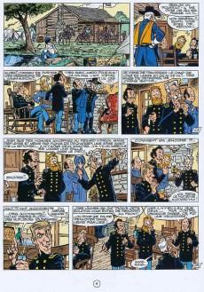 Extrait de Les tuniques Bleues -28a1992- Les bleus de la balle