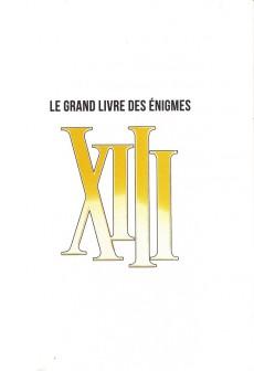 Extrait de XIII -HS09- XIII Le grand livre des énigmes