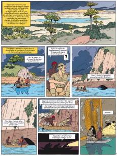 Extrait de Blake et Mortimer (Les Aventures de) -18b14- Le sanctuaire du Gondwana