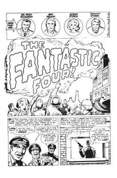Extrait de Essential Fantastic Four (1999) -INT01b- Fantastic four vol.1