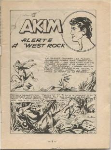 Extrait de Akim (1re série) -153- Alerte à