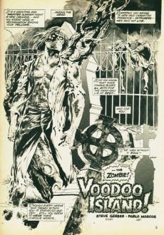 Extrait de Tales of the Zombie (Marvel comics - 1973) -2- Voodoo Island