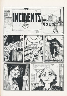 Extrait de Incidents (Mattotti) - Incidents