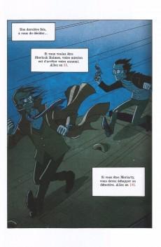 Extrait de Sherlock Holmes - La BD dont vous êtes le héros -3- Sherlock Holmes & Moriarty associés
