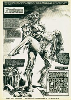 Extrait de Tales of the Zombie (Marvel comics - 1973) -9- Simon Garth walks Again