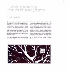 Extrait de (AUT) Comès - Didier Comès. L'éclat du Noir Profond