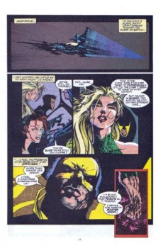 Extrait de Namor, The Sub-Mariner (Marvel - 1990) -32- Blood of the warrior