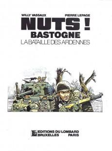 Extrait de La bataille des Ardennes - Nuts! -1b1998- L'offensive