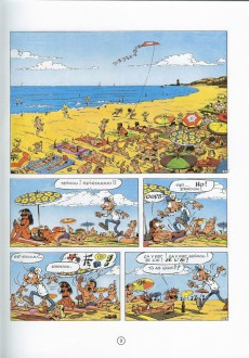 Extrait de Spirou et Fantasio -30b93- La ceinture du grand froid