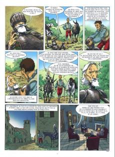 Extrait de Les indispensables de la Littérature en BD -FL12- Don Quichotte / Le Dernier des Mohicans