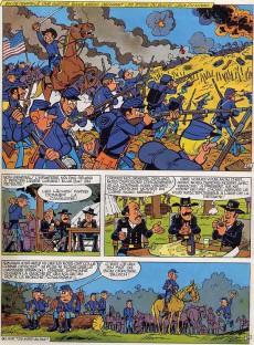 Extrait de Les tuniques Bleues -7a1977- Les bleus de la marine