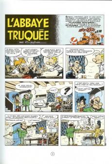 Extrait de Spirou et Fantasio -22e94- L'abbaye truquée