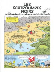 Extrait de Les schtroumpfs - La collection (Hachette) -1- Les schtroumpfs noirs