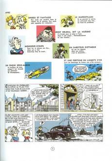 Extrait de Spirou et Fantasio -17f93- Spirou et les hommes-bulles