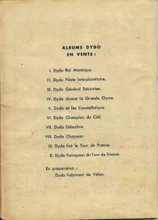 Extrait de Dydo -10- Dydo vainqueur du Tour de France