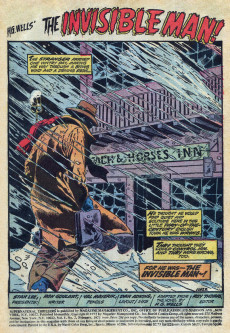 Extrait de Supernatural Thrillers (1972) -2- The Invisible Man