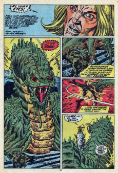 Extrait de Supernatural Thrillers (Marvel - 1972) -3- The Valley of the Worm!