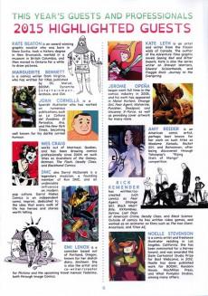Extrait de (Catalogues) Éditeurs, agences, festivals, fabricants de para-BD... -2015ANG- Thought Bubble: The Leeds Comic Art festival