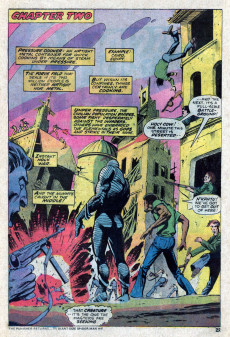 Extrait de Supernatural Thrillers (Marvel - 1972) -12- The War That Shook the World!
