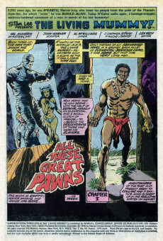 Extrait de Supernatural Thrillers (Marvel - 1972) -14- All These Deadly Pawns