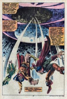 Extrait de Supernatural Thrillers (Marvel - 1972) -15- The Night of Armageddon!